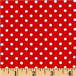 Quilt Camp Dot Red