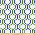 RCA Geometric Sheers Preppy Green/Blue