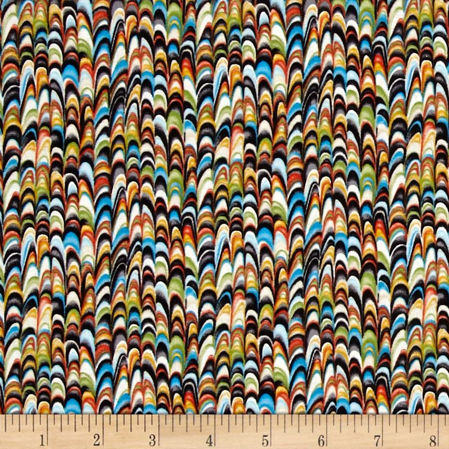 Birds of a Feather Allover Feathers Multi