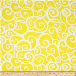 Kanvas Lemon Tree Scroll Yellow