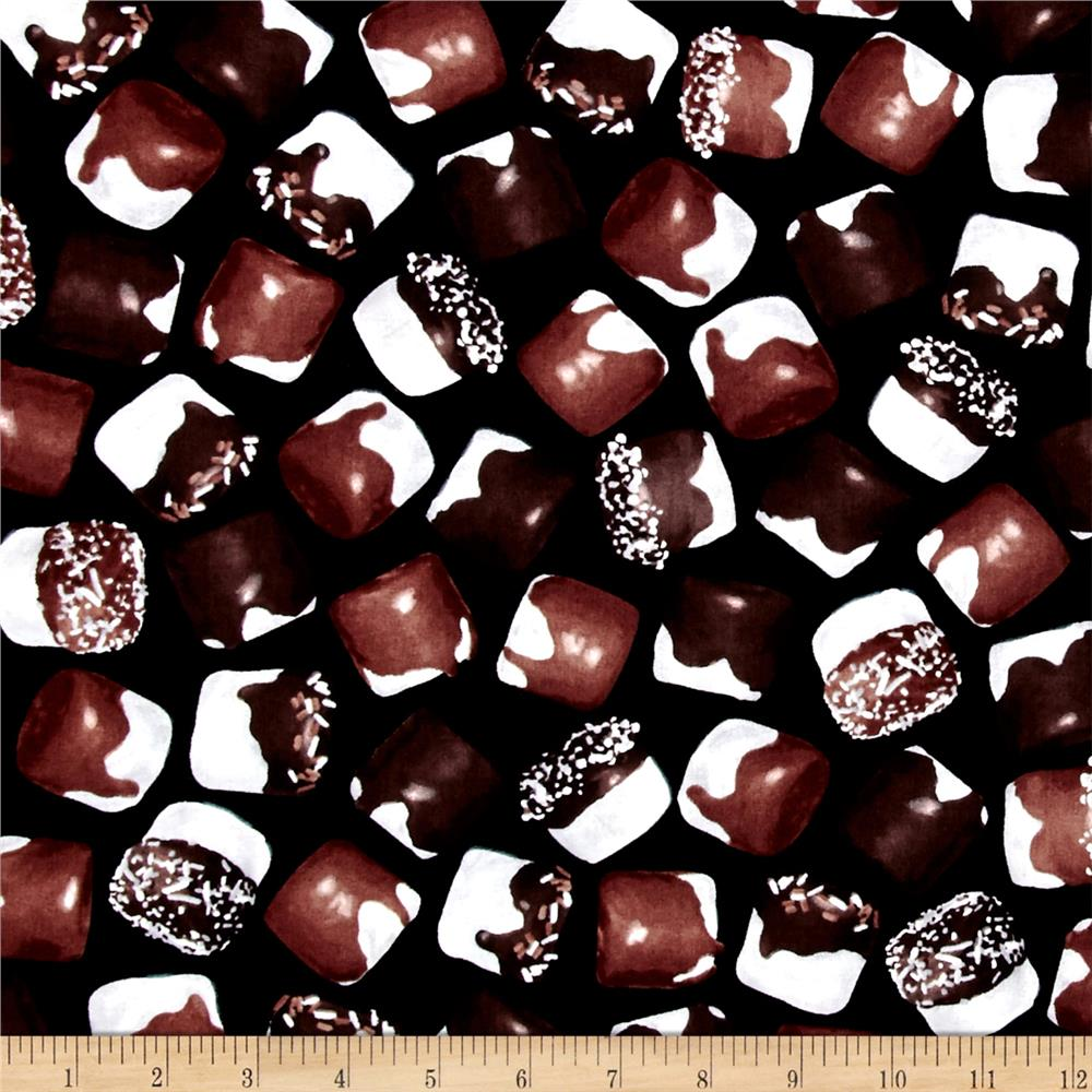 Chocoholic Chocolate Marshmallows Black