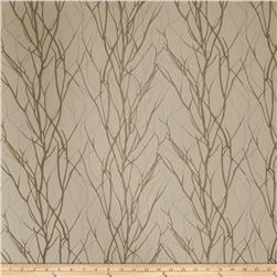 Fabricut Graves Embroidered Shantung Shadow