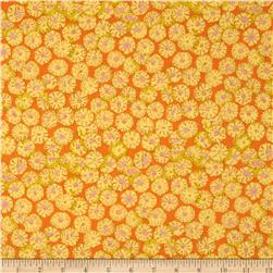 Kaffe Fassett Collective Sand Dollars Yellow