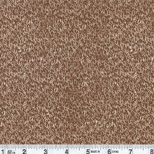 Moda Funky Monkey Monkey Texture Brown Fabric