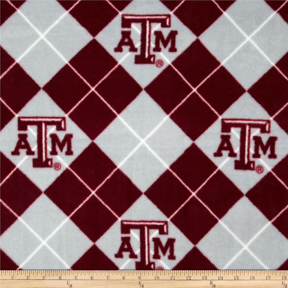 Collegiate Fleece Texas A&M University Maroon