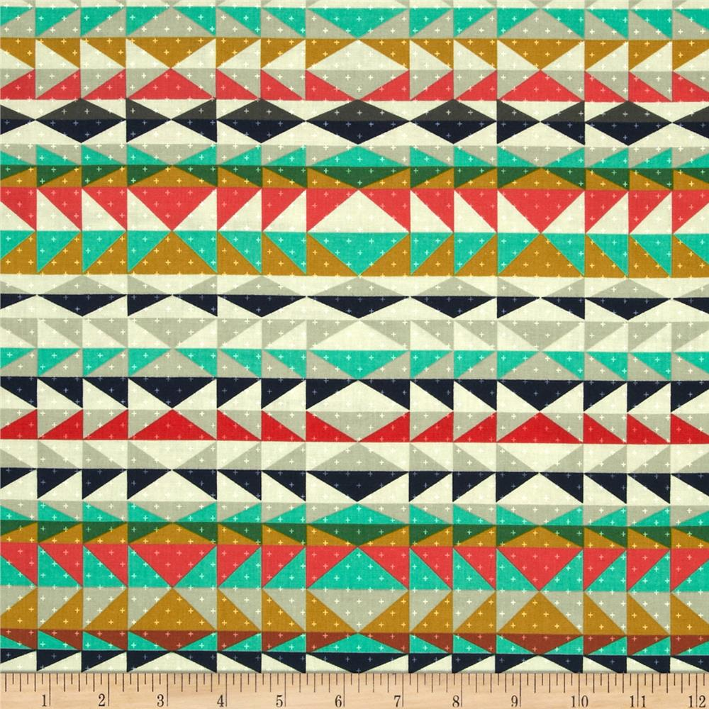 Cotton + Steel Mesa Overlook Serape Coral