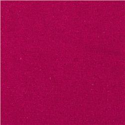 Raw Silk Noil Fuchsia