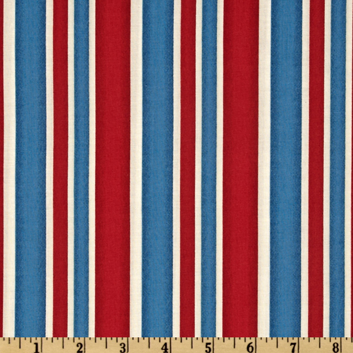 London Stripe Red/White/Blue