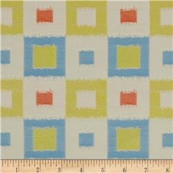 Claridge Square Jacquard Kiwi