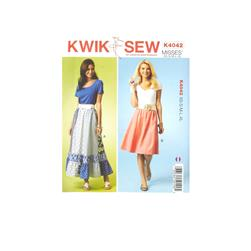 Kwik Sew Misses Skirt Pattern