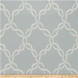 Fabricut Madeleine Wallpaper La Mer (Double Roll)