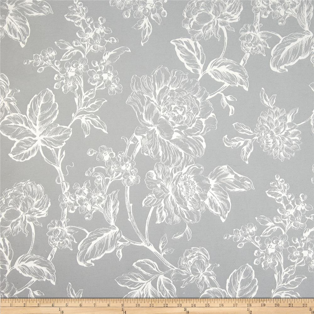 Covington olivia satin jacquard pearl grey discount for Jacquard fabric