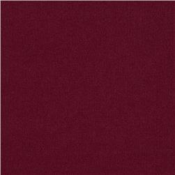 Single Knit Solid Burgundy