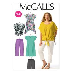 McCall's Misses' Dresses and Belt Pattern M6952 Size B50