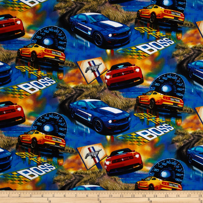 Ford Mustang Boss Fabric