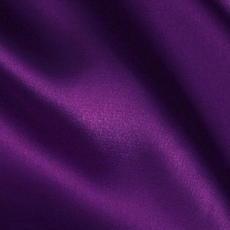 Stretch Charmeuse Satin Purple Discount Designer Fabric