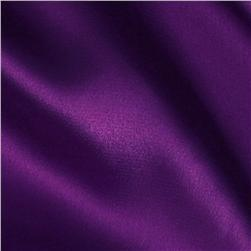 Stretch Charmeuse Satin Purple