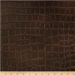 Richloom Faux Crocodile Gladiator Brown
