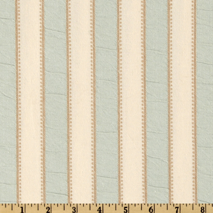 Waverly Embroidered Sally Stripe Nest Fabric