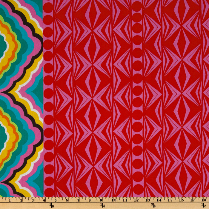 Africa Djada Single Border Multi Fabric