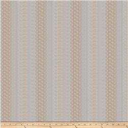 Fabricut Feisty Stripe Linen Blend Nutria Sheen