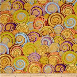 Philip Jacobs Spiral Shells Gold