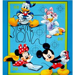 Disney Mickey and Friends Game Over 36'' Panel Blue