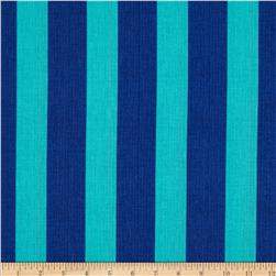 Meridian Stripes Teal/Navy