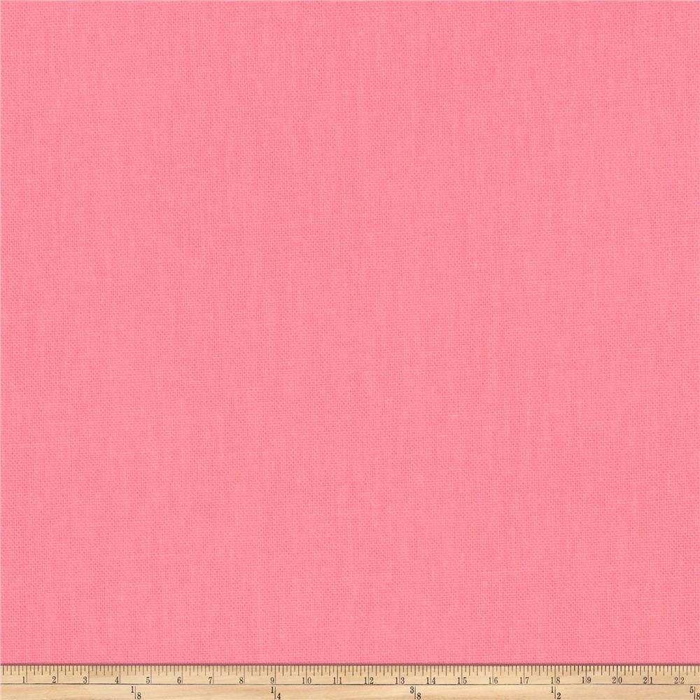 Fabricut Principal Brushed Cotton Canvas Flamingo
