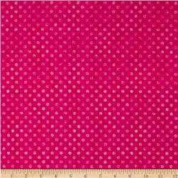 Essentials Brights Dotsy Dark Pink
