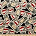 Patriots Dollar Bills Americana Black