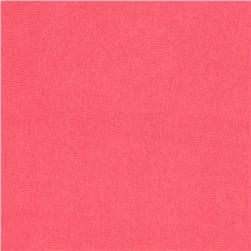 Cotton/Lycra Stretch Jersey Blush Coral
