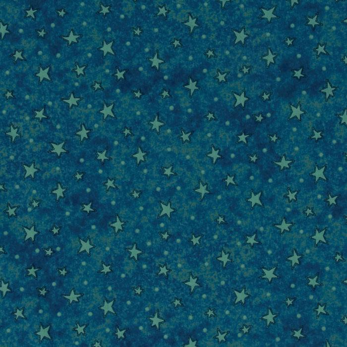 Two By Two Tonal Stars Teal