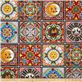 Fiesta Block Tiles Black