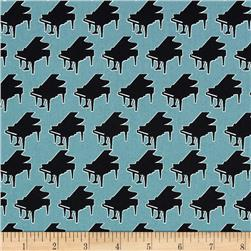 Perfect Pitch Pianos Teal