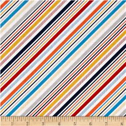 Riley Blake Play Ball 2 Stripe Multi