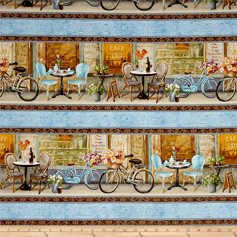 Le Cafe Repeating Stripe Multi