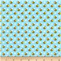 Spring Fling Bees Light Blue