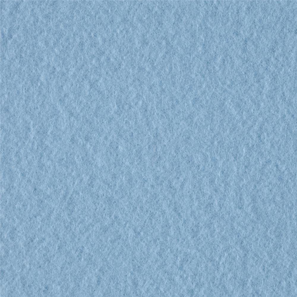 Solid Fleece Baby Blue Fabric By The Yard