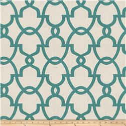 Fabricut The Dance Linen Aqua