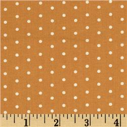 Moda Lucy's Crab Shack Polka Dots Orangesicle