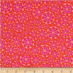 Kanvas Lilified Flower Power Fuschia/Orange