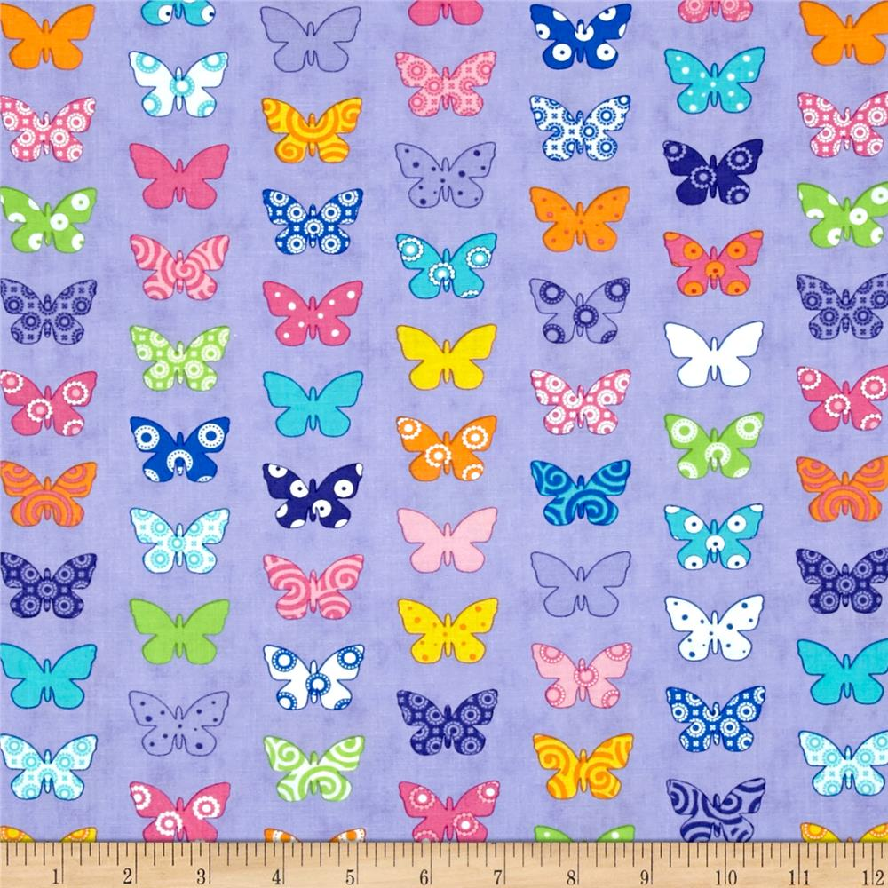 Moda Brighten Up! Flutter Up Purple