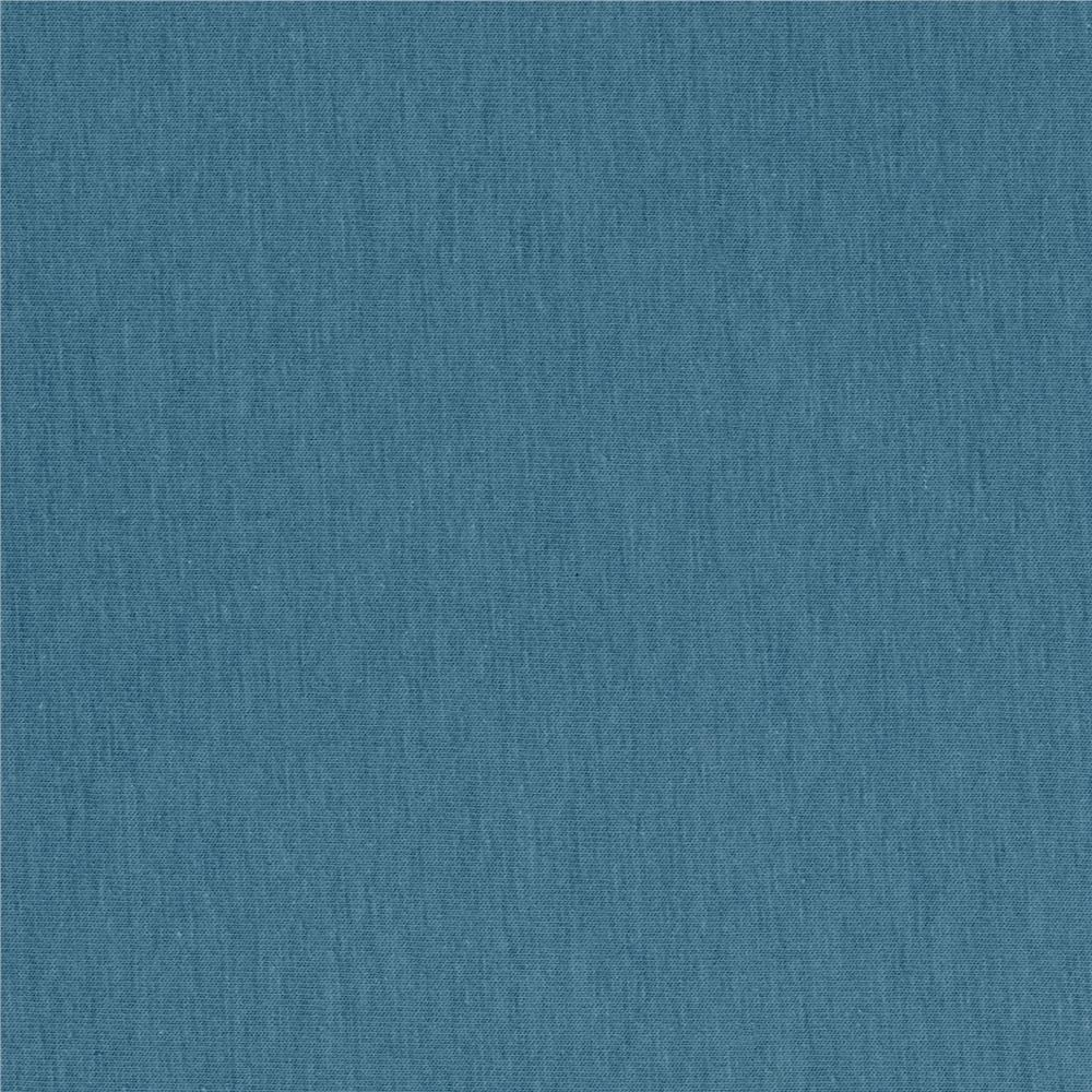 Art Gallery Pure Elements Jersey Knit Solid Buna Blue
