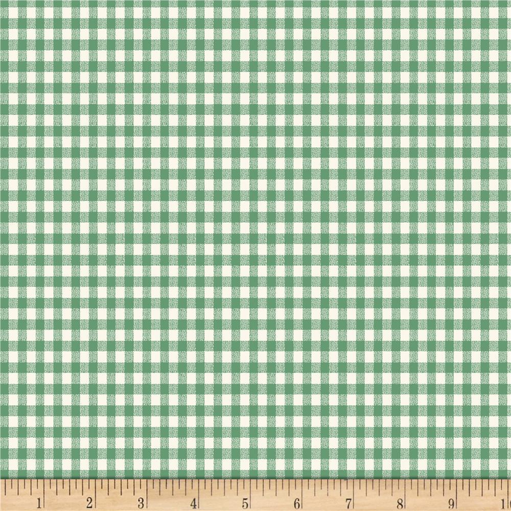 Backyard Pals Gingham Green