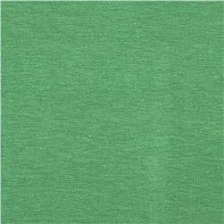 Cotton Spandex Jersey Knit Solid Caribbean Green