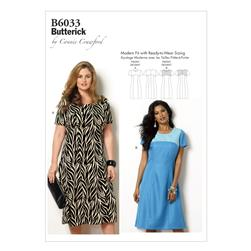 Butterick Misses'/Women's Dress Pattern B6033 Size MIS