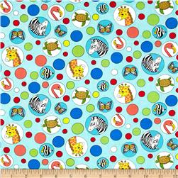Geniuses Go Wild Animal Bubbles Aqua