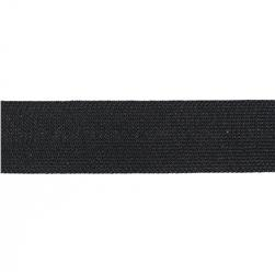 "Team Spirit 1"" Solid Trim Black"