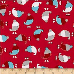 Kaufman Jingle 4 Birdies Red